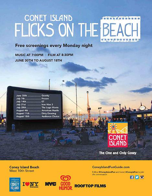 Coney Island Outdoor Movies