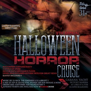Halloween Party on Cabana Yacht