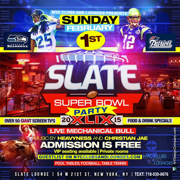 Slate Lounge Sunday party