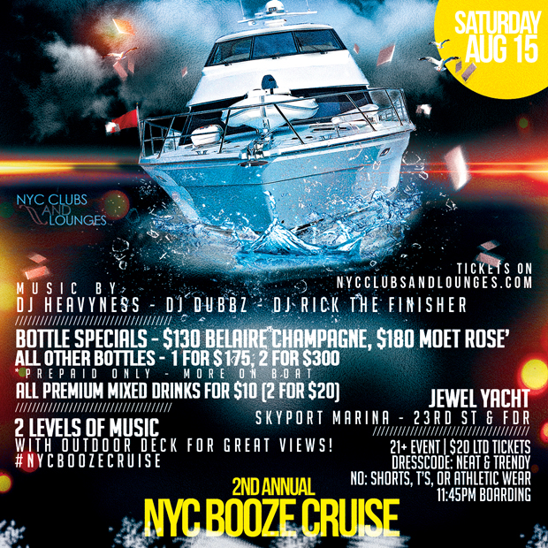 Booze Cruise Boat Party