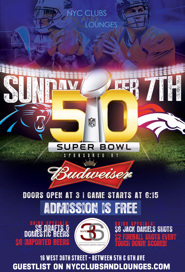 Free Super bowl party