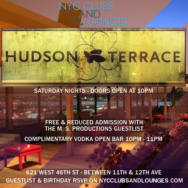 Hudson terrace nyc clubs and lounges for Terrace on the hudson