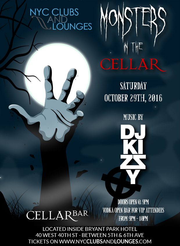 Cellar Bar Halloween Party