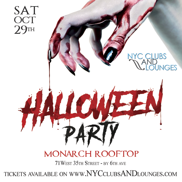 Halloween at Monarch Rooftop