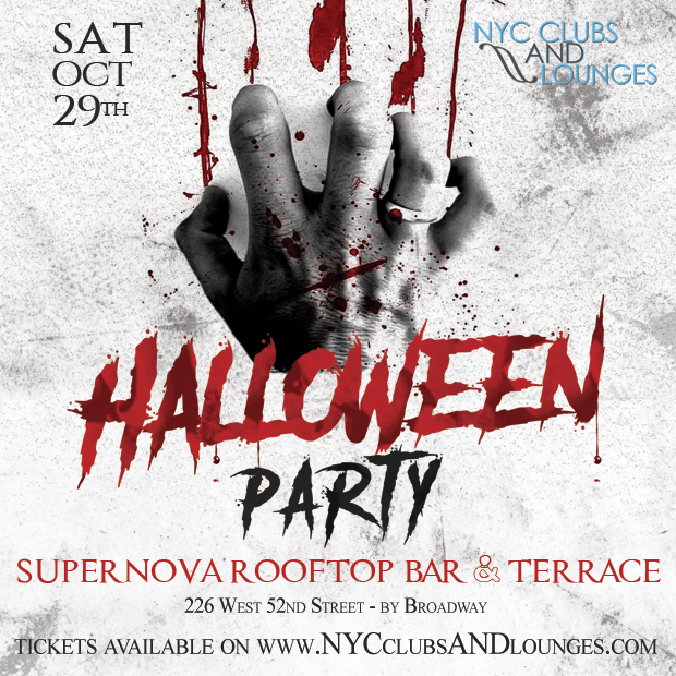 Halloween Party at Supernova NYC