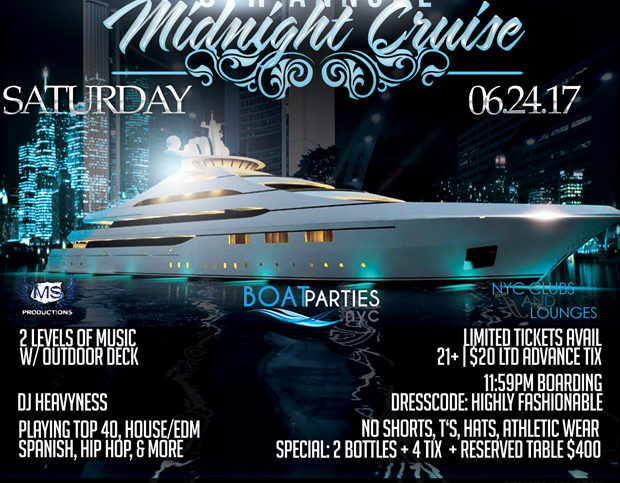 8th Annual Midnight Cruise, boat party