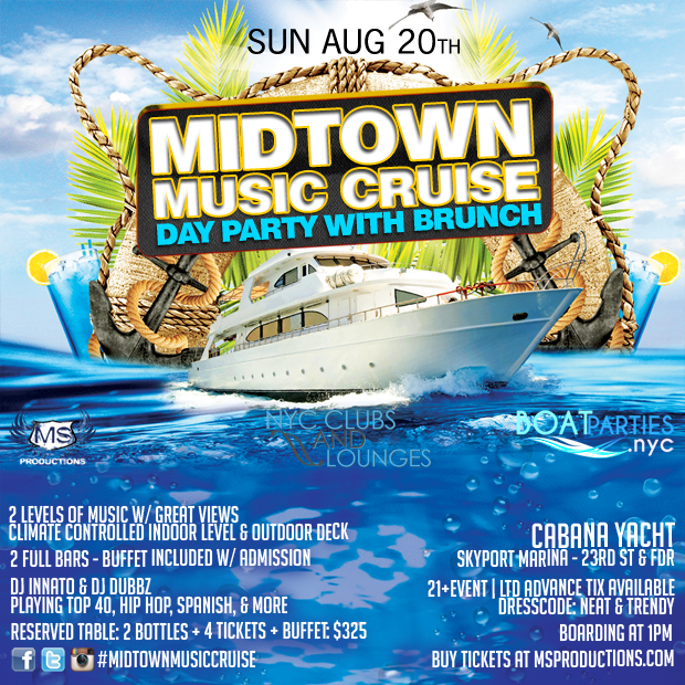 Midtown Music Cruise brunch party