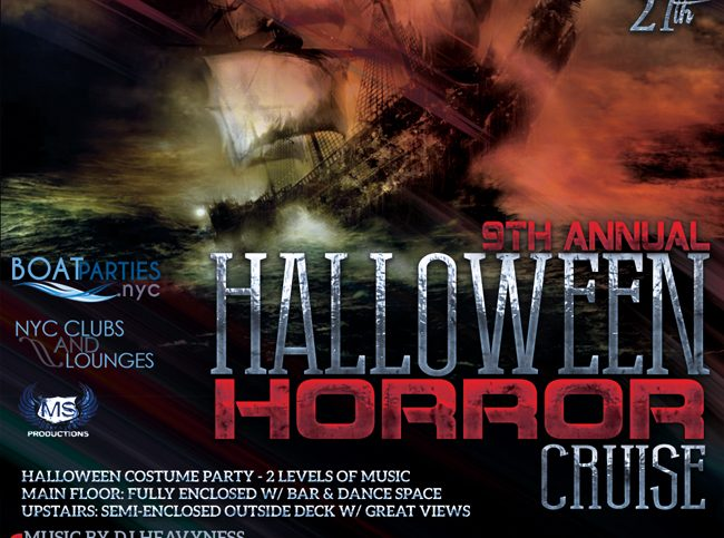 NYC Halloween Boat Party