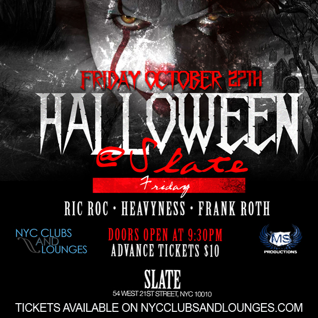 Slate NYC Halloween Party