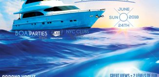 NYC Boat Brunch, day party with food